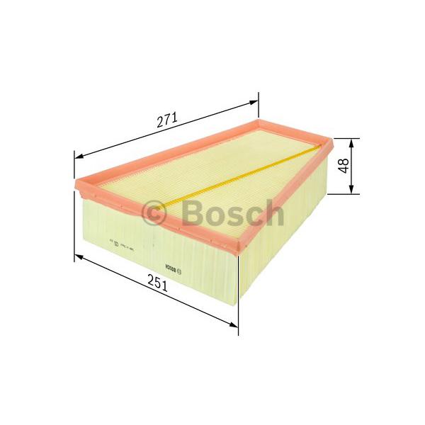 BOSCH Luftfilter F 026 400 390 für OPEL